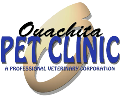 Ouachita Pet Clinic logo